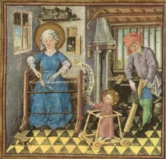 The Infant Jesus in a Baby Walker