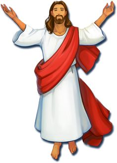 jesus christ being happy and accommodating 1 clip art bible rh pinterest com clipart of jesus praying in gethsemane clipart of jesus and his disciples