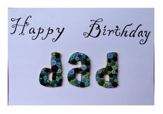 Birthday Greeting for Father/Dad