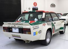 Flares & Chairs: Fiat 131 Abarth Rally Tribute