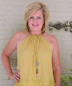 50 IS NOT OLD   CAN WOMEN IN THEIR FIFTIES WEAR A HALTER TOP   Accessories   Jewelry   Statement Necklace   Plunder Design   www.plunderdesign.com/taniastephens
