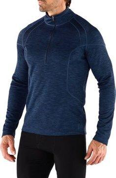 REI Men's Midweight Long Underwear Half-Zip Shirt