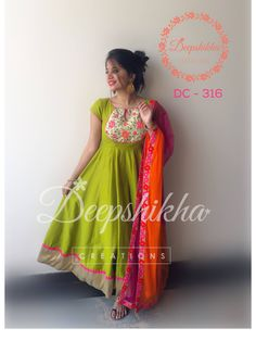 DC - 316 For queries kindly inbox or Email - deepshikhacreations@gmail.com  Whatsapp / Call - +919059683293