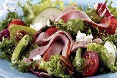 Салат с с ветчиной свеклой