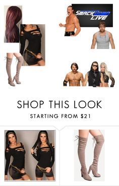 """""""Interrupting The Miz, Maryse, Aj Styles and Dean Ambrose W/ Dolph Ziggler."""" by jamiehemmings19 ❤ liked on Polyvore featuring WWE and WithChic"""