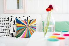 splash cushion designed by Elisabeth Dunker / Fine Little Day .