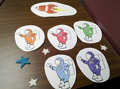 Five Little Astronauts