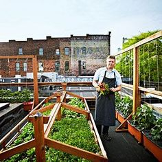 Bastille Café & Bar - Seattle, WA #RooftopGarden