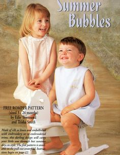 #76, 2001 - Summer Bubbles, 3m-24mo, designed by Edie Townsend and Trisha Smith