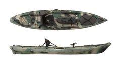 Ocean Kayak Trident 11.5 Fishing Kayak Review
