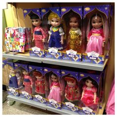 "Globetrotting Mommy - Disney's ""It's a Small World Collection.  Dolls, great gifts, Disney, girls."