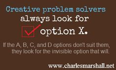 Motivational quote from keynote speaker Charles Marshall. #motivational www.charlesmarshall.net