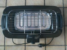 Ab heute Grillwetter  hier die Version eines Grilles wo die Nachbarn garantiert sich nicht über den Geruch  glühender Holzkohle beschweren .