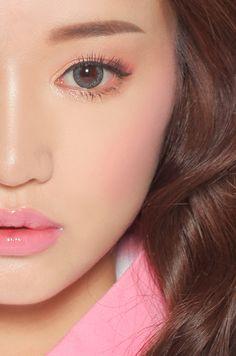 Kang Sora's perfection #kfashion #ulzzang #korean #circlelenses #3concepteyes #stylenanda