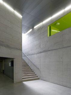 meyer architecture, architects savioz Fabrizzi - Fitness Triple , Visp Switzerland