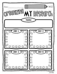 Common Core: Writing to Inform All Year Long -- TPT (it's for first, but I like the idea and the template)