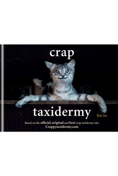 Crap Taxidermy Book - hilarious (If you remember That's Life - You'll know why!) £7.99