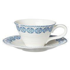 Buy Sophie Conran for Portmeirion Florence Tea Cup & Saucer Online at johnlewis.com