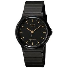 6966c47078a Casio Mens Watch with Black Resin Band