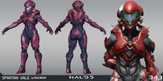 Halo 5 - Vale, Kyle Hefley on ArtStation at https://www.artstation.com/artwork/zz2VD