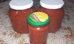 Retete cu margareta cismasiu: Gem de ardei iuti din cuina de la Uica Salsa, Jar, Food, Meal, Salsa Music, Restaurant Salsa, Eten, Meals, Jars