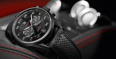 TAG Heuer Calibre 36 - History's Irony is a Collector's Icon. TAG Heuer and their Calibre 36 movement make for some powerful chronographs. Fine Watches, Cool Watches, Men's Watches, Black Watches, Rolex, Tag Heuer Carrera Calibre, Tag Heuer Formula, Hand Watch, Luxury Watches For Men