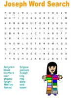 pictures of Joseph and his coat | Joseph and His Coat of Many Colors Games and Puzzles