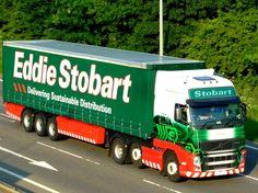 Eddie Stobart Truck Photo on the A45 near Northampton #trucks #truckphotos #uktrucks #eddiestobart