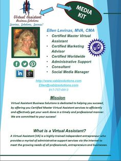 Virtual Assistant Business Solutions Media Kit
