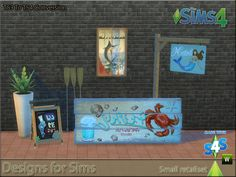 Sims 4 CC's - The Best: Deco Objecte by Designs for Sims