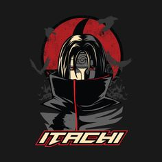 Check out this awesome 'Uchiha+itachi' design on Itachi Uchiha, Naruto Shippuden Sasuke, Boruto, Naruto Wallpaper, Cartoon Characters, Fictional Characters, Game Logo, Photoshop Design, Tmnt