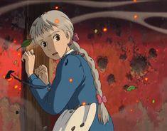 Studio Ghibli Art, Studio Ghibli Movies, Howl And Sophie, Film D, Howls Moving Castle, Hayao Miyazaki, Iphone Wallpaper, Trust, Anime