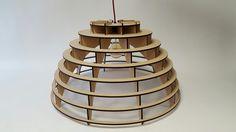 Decoratieve mdf lamp Globo