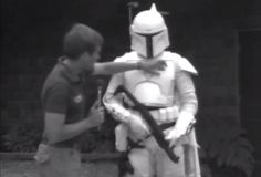 Watch video of Boba Fett's first screen test