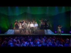 """""""All God's Creature Got a Place in the Choir"""" by Celtic Thunder.  You'll be singing along....and SMILING !"""