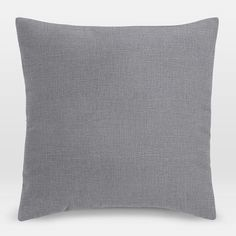 west elm Upholstery Fabric Pillow Cover - Yarn Dyed Linen Weave