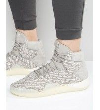 06bc5035a0 adidas Originals Tubular Instinct Primknit Sneakers In Gray