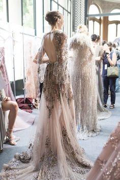 "juilletdeux: ""Zuhair Murad | Fall/Winter 2017 Couture "" #jadealyciainc www.jadealycia.com"