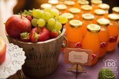 Fresh fruit bucket from a Masha & the Bear Birthday Party on Kara's Party Ideas | KarasPartyIdeas.com (8)
