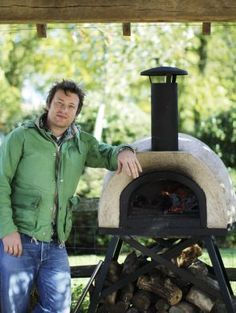 Wood Fired Oven by Jamie Oliver available at www.zebranorattan.co.uk