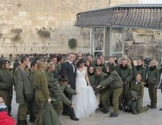 wedding with the IDF