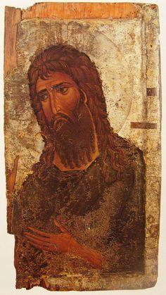 Byzantine Art, Orthodox Christianity, John The Baptist, Religious Icons, Art Icon, Christian Art, Mosaics, Medieval, Saints