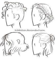 How To Draw Curly Short Hair Best Short Hair Styles