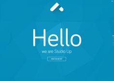 Studio Up - Web Design Inspiration