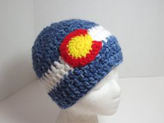 Colorado Flag Hat  Colorado  Colorado Proud by BitchinBagsbyBenita