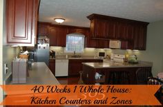 What do you keep on your kitchen counters? Follow me the next 4 weeks as I help you organize your kitchen as a professional would. | Organize 365