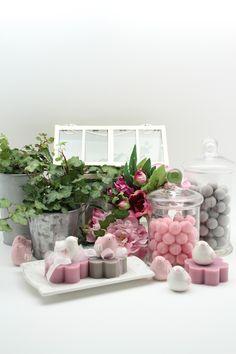 Saponi decorati rosa