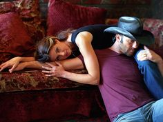 Faith HIll and Tim McGraw One of my favorite celebrity couples.