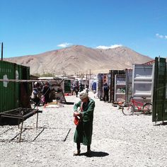 Shopping on a Tuesday afternoon in Murghab. The bazaar is a series of shipping containers packed with supplies mostly from China. Thankfully biscuits and sweets are readily available. Snickers bars are a staple of the high mountain diet. #murghab #tajikistan #eightsnickersadayhabit #adventure #travel #m41 #3650mabovesealevel