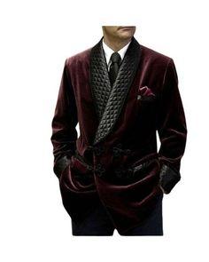 Smoking Jacket, Man Smoking, Wedding Suit Styles, Wedding Suits, Kurta Men, Velvet Quilt, Green Jacket, Double Breasted, Burgundy